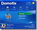 media center domotix
