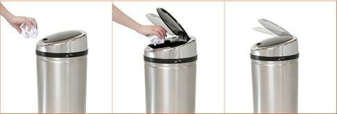 poubelle automatique domotique