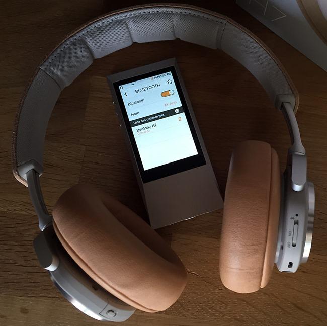 Le mode Bluetooth avec le casque BO H7