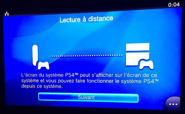Lecture à distance des jeux PS4 sur un second téléviseur avec la PlayStation TV