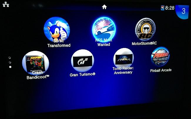 Tous les jeux de la PS Vita en grand format sur le téléviseur via HDMI