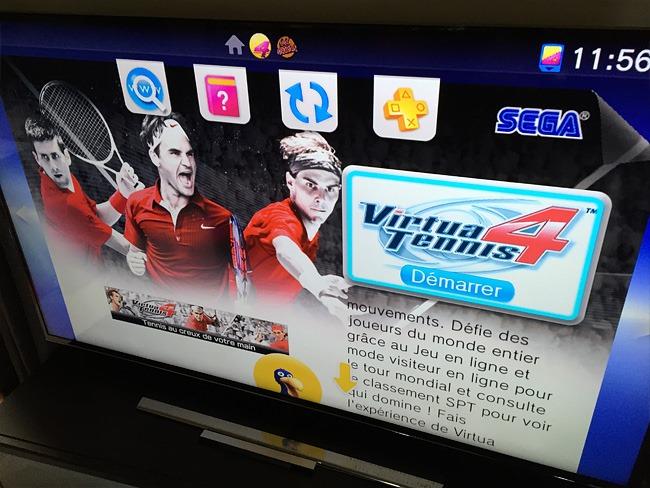 Jeux PS Vita incompatible avec PlayStation TV
