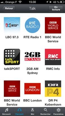Diffusion de web Radio sur Pure Connect