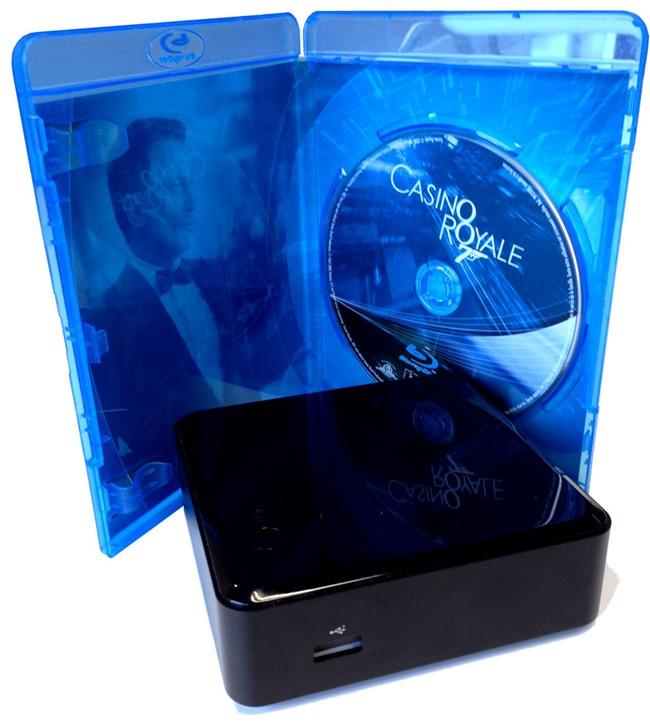 Un lecteur multimédia plus petit qu'un boitier de Blu-ray