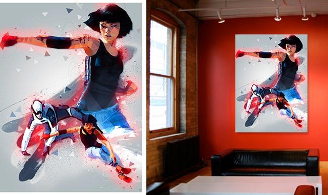 Poster et tableau de jeux vidéo par Ideealizse