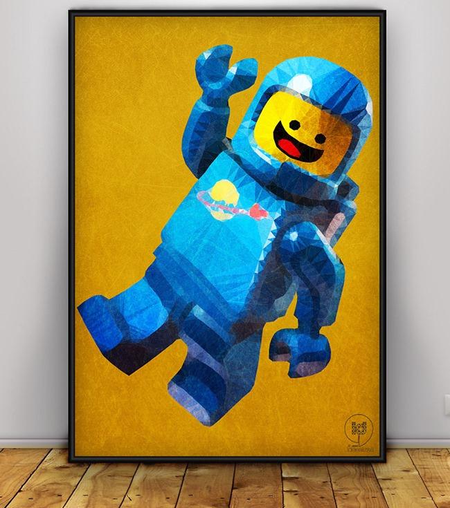 Art, poster et tableau Lego par Ideealizse