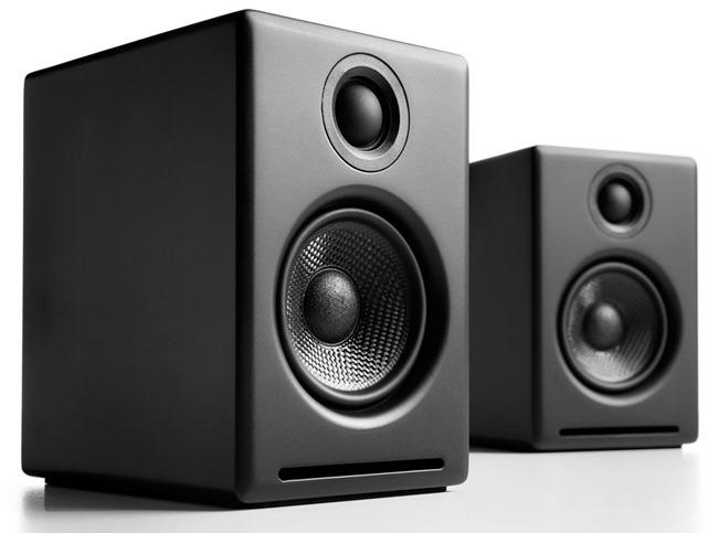 Audioengine A2+ en coloris noir