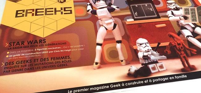 Breeks – La première revue dédiée à la famille geek