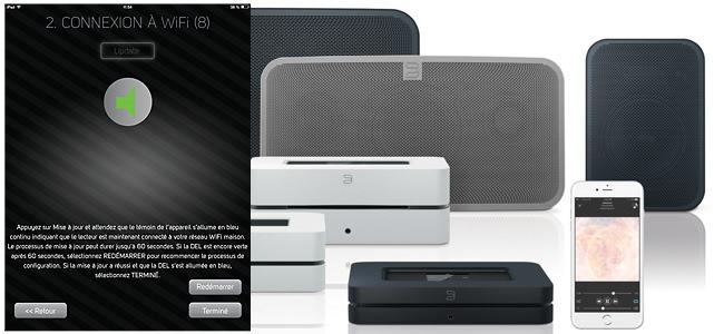 Mode d'emploi :  Configurer en réseau sans fil wifi les lecteurs audio Bluesound NODE, POWERNODE et les enceintes PULSE