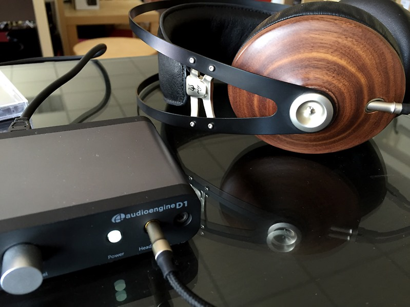 En écoute avec le DAC USB Audioengine D1 sur mon ordinateur