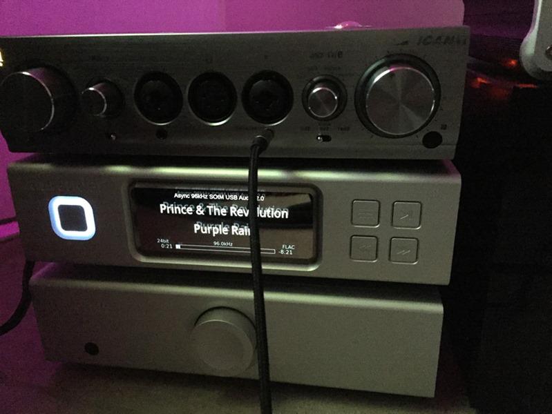 Une configuration pour l'écoute au casque : Aurender N100H et iFi Audio iCAN PRO