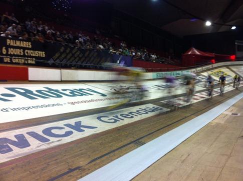 Les 6 Jours de Grenoble - Photo de sport avec iPhone