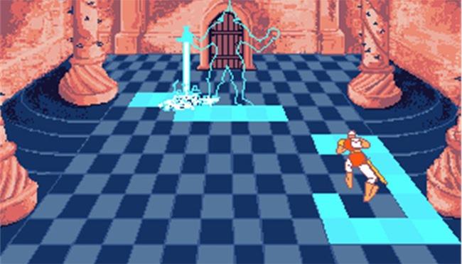 Dragon's Lair en 1989 sur Amiga