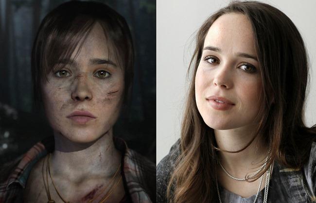 """Ellen Page """"tourne"""" dans un jeux vidéo"""