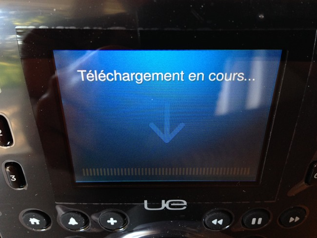 Téléchargement de la dernière version du logiciel Squeezebox