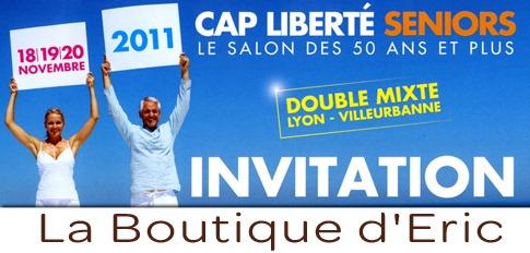 Salon Cap Liberté Seniors du 18 au 20 novembre 2011 au Double Mixte de Lyon - Villeurbanne