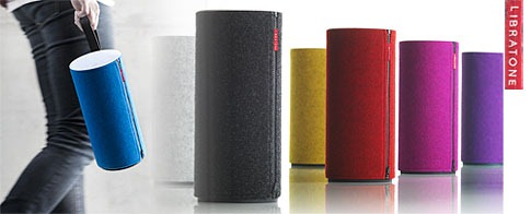 libratone zipp l enceinte autonome sans fil wi fi et airplay avec batterie pour la maison et le. Black Bedroom Furniture Sets. Home Design Ideas