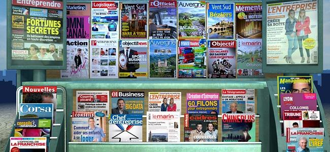 LeKiosk - application pour la lecture de magazine numérique sur tablette et smartphone