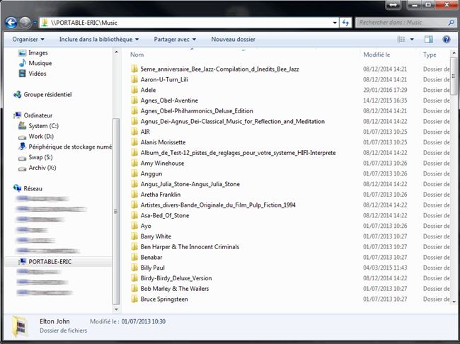 Vérification et liste des dossiers partagés de l'ordinateur sous Windows