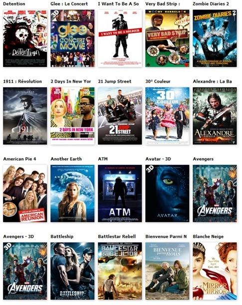 Catalogue des nouveautés Blu-ray chez Hollystar