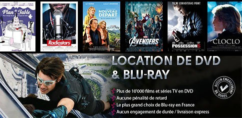Test de services de location dvd-blu-ray par Internet - Hollystar et Vidéofutur