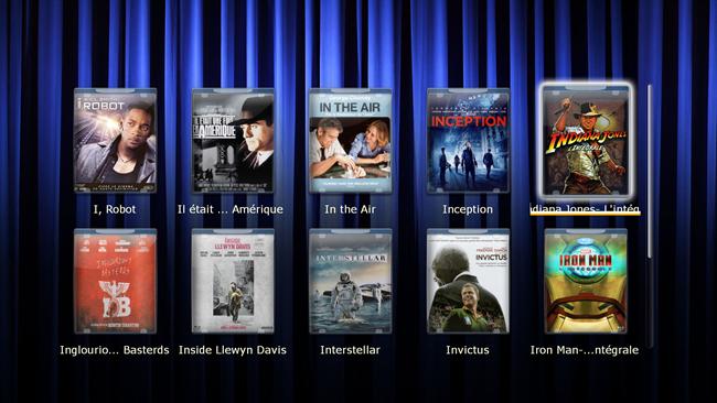 "Les coffrets ""Indiana Jones"" et ""Iron Man"""