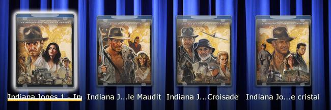 """Les films du coffret """"Indiana Jones"""", y compris avec le récent épisode 4"""