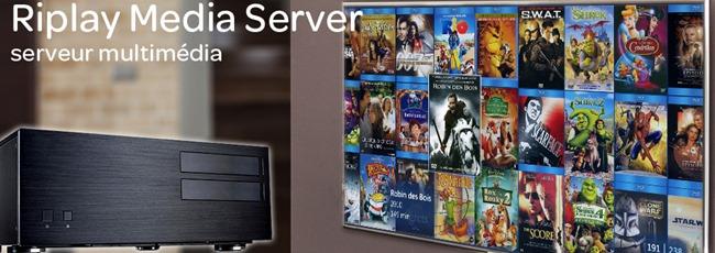 Serveur de copie de disques DVD et Blu-ray pour la gestion d'une filmothèque dématérialisée