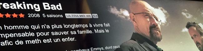 Streaming 4K UltraHD déjà présent chez Netflix