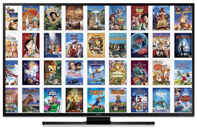 Choix des films pour enfants
