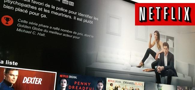 Test de la qualité audio-vidéo de Netflix