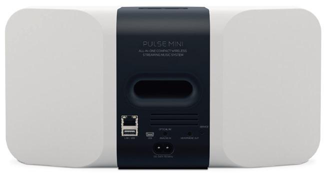 Connectique audio de l'enceinte sans fil Bluesound PULSE MINI