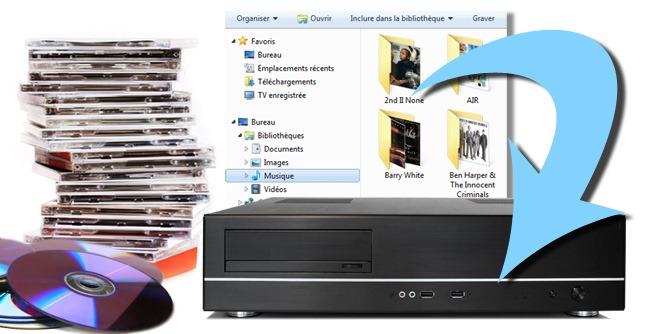 Stocker sa musique sur un serveur par un simple copier coller depuis son ordinateur