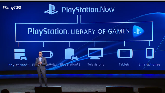 Le service de Cloud Gaming : PlayStation Now