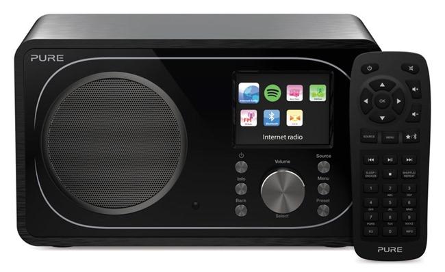 Pure Evoke F3, poste de radio WiFi, FM, DAB