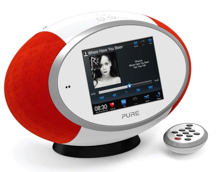 Pure Sensia 200D poste de radio web UPnP avec écran tactile