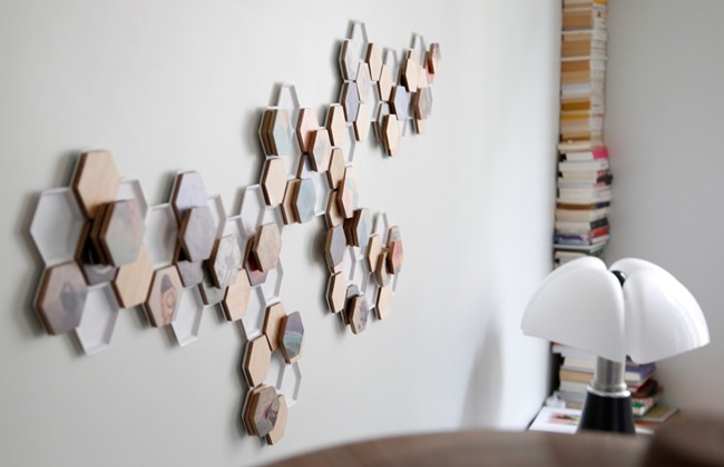 Afficher ses collections de musiques, photos, vidéos et films sur les murs avec design