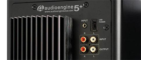 Entrées audio de l'enceinte Audioengine A5+