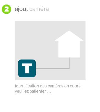 Détection automatique de la nouvelle caméra
