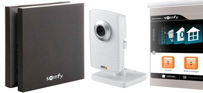 Une caméra de surveillance pour un usage domituqye - test avec le SomfyBox