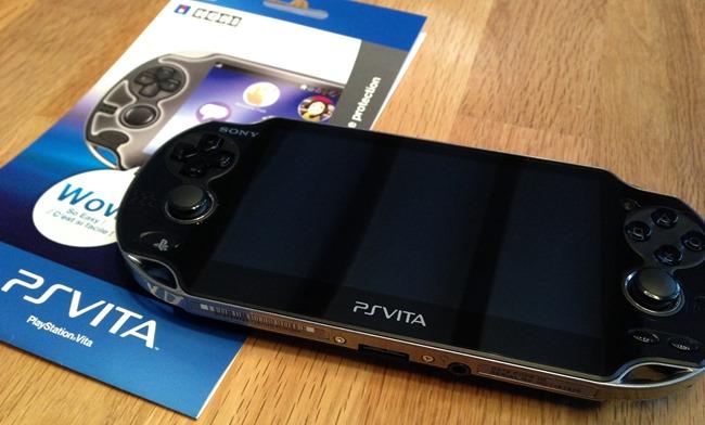 Test de la protection d'écran Hori pour PS Vita