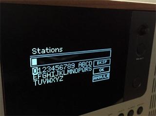Recherche de stations radio sur Internet