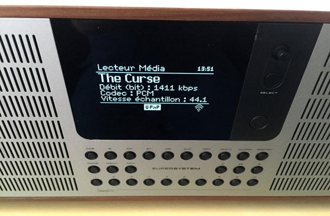 Test et écoute d'un fichier audio en qualité sonore HD