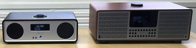En comparaison avec le Ruark Audio R2 MKIII