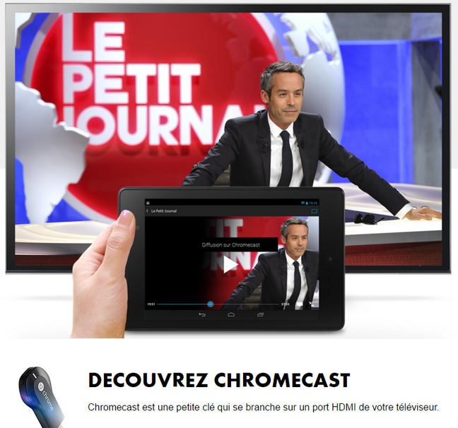 test de l 39 application mycanal sur ipad et en chromecast. Black Bedroom Furniture Sets. Home Design Ideas