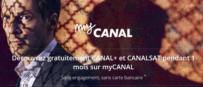Test de l'application MyCanal sur iPad et en Chromecast sur le téléviseur
