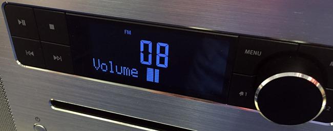 Affichage du volume sonore