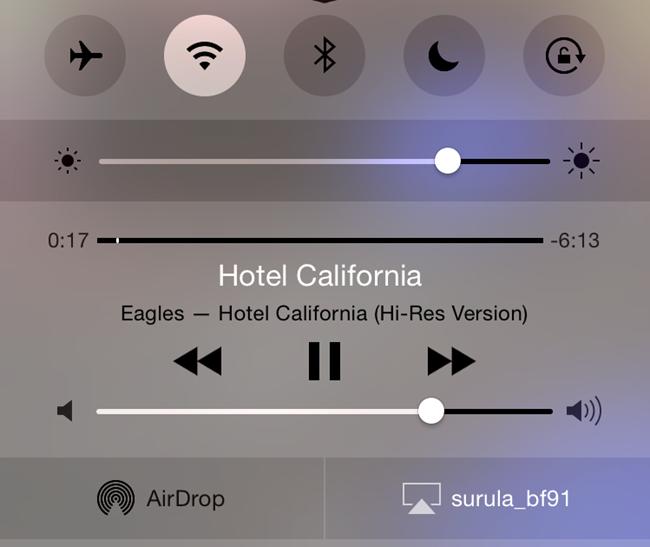 Activer et choisir l'AirPlay comme sortie audio sur son iPhone