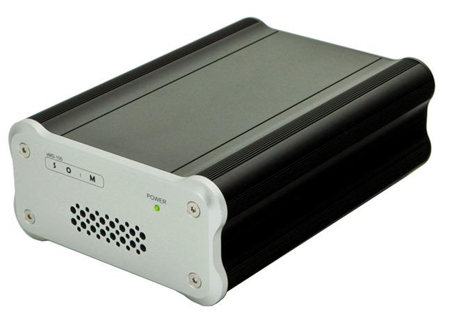 Le lecteur SOtM sMS-100 compatible Squeezebox pour la lecture des musiques en réseau