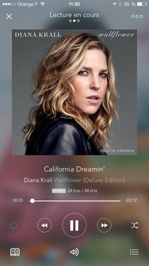 Test du DAC iFi Audio iDSD Nano sur un iPhone avec l'application Qobuz